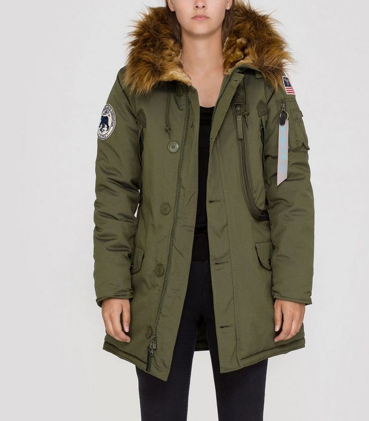 ALPHA INDUSTRIES Jacke  Polar Jacket Wmn - http://www.jackenonline.shop/jacke/alpha-industries-jacke-polar-jacket-wmn/