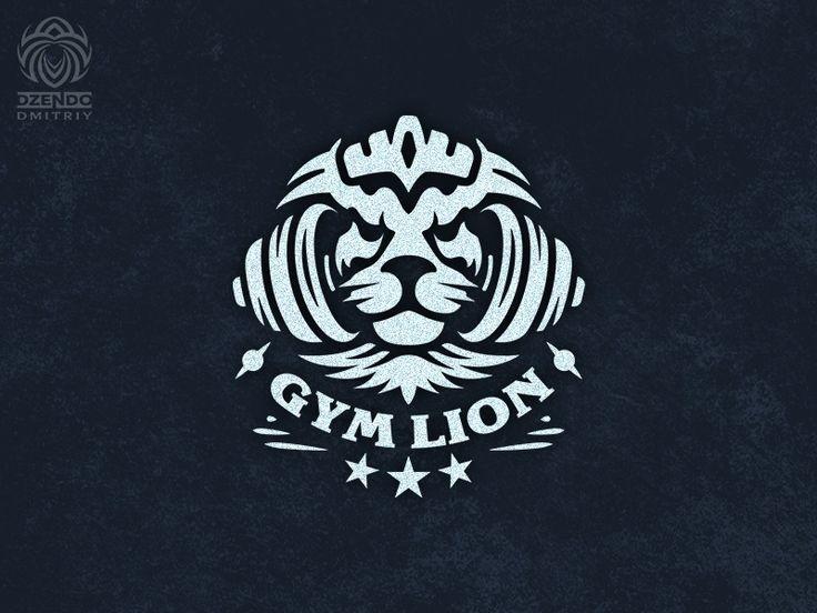 Gym Lion Logo Gym Logo Lion Logo Logo Images