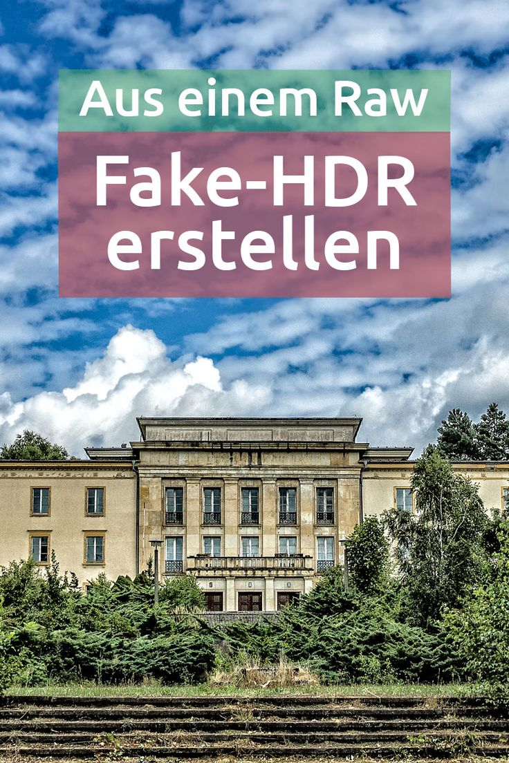 Workflow: Mit Lightroom und Perfect Effects knackiges Fake-HDR erstellen