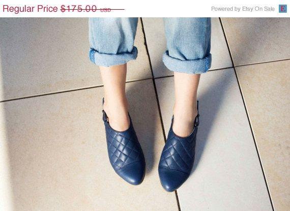SALE Womens Flats  Slingbacks Casual Shoes  by OliveThomasShoes