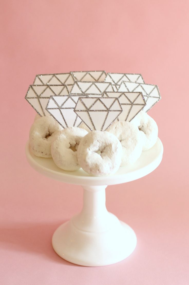 add some glitz and glam to the bride to bes bridal shower or wedding