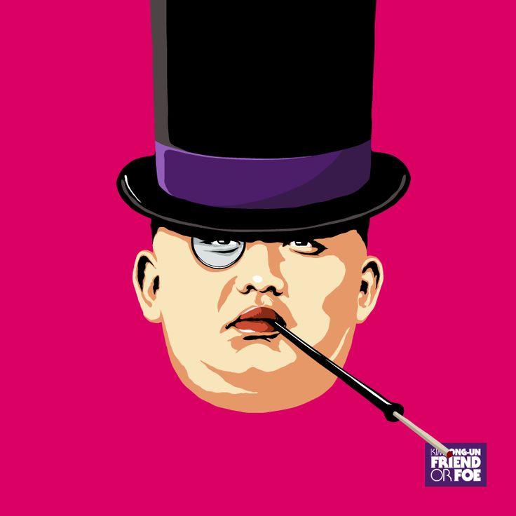 Kim Jong-Un par Butcher Billy : le Pingouin de Batman