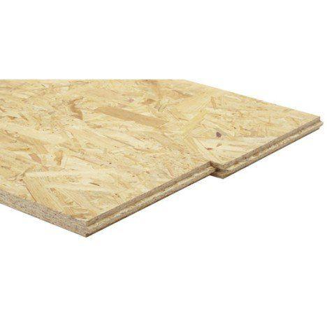 Dalle osb 3 3 plis épicéa naturel, Ep.22 mm L.205 x l.67.5 cm