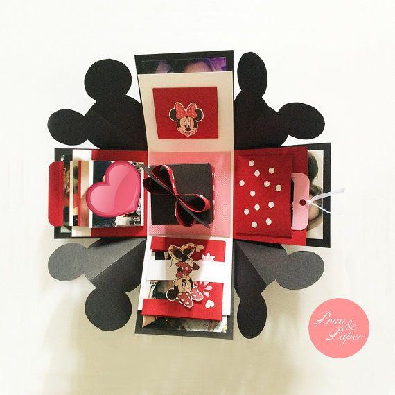 Minnie Mouse vak uitlichting / / Minnie van primpapershop op Etsy