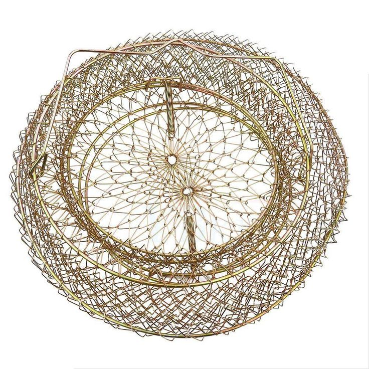685 best crab traps pots images on pinterest crabs for Fish wire basket