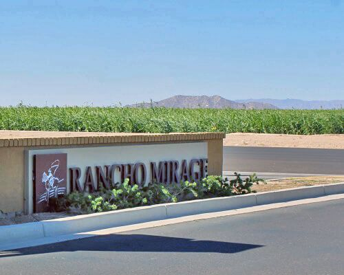 Rancho Mirage Is Located In The Far East Edge Of Maricopa And Not Yet Fully Developed It Features A Lake Walking Paths Parks Homes Are Built