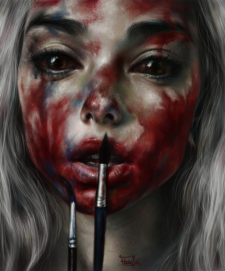 ArtStation - paints, Elena Sai