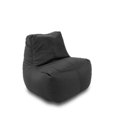 Ace Casual Furniture Ace Bayou Bean Bag Lounger Upholstery: Black