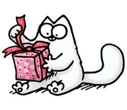 Картинки кота саймона с днем рождения