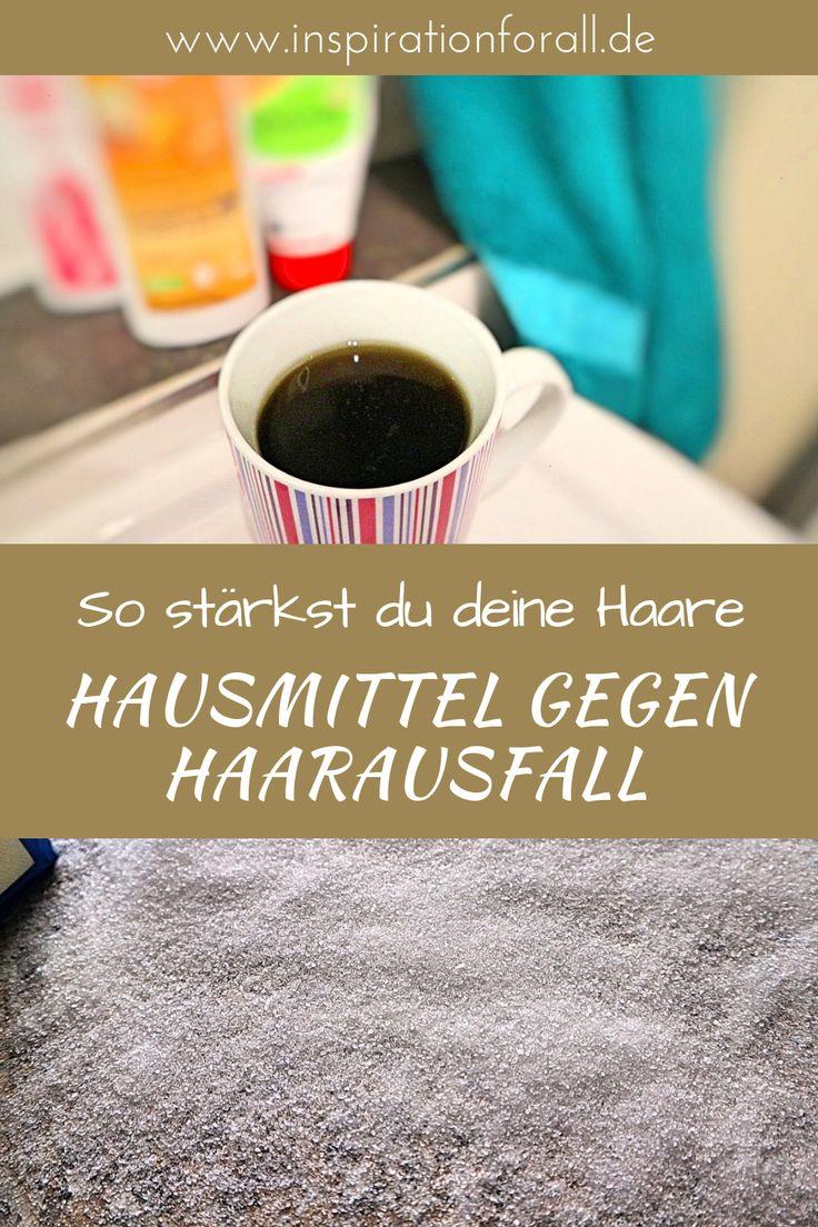 Hausmittel gegen Haarausfall: 7 Tipps, um Haare zu stärken