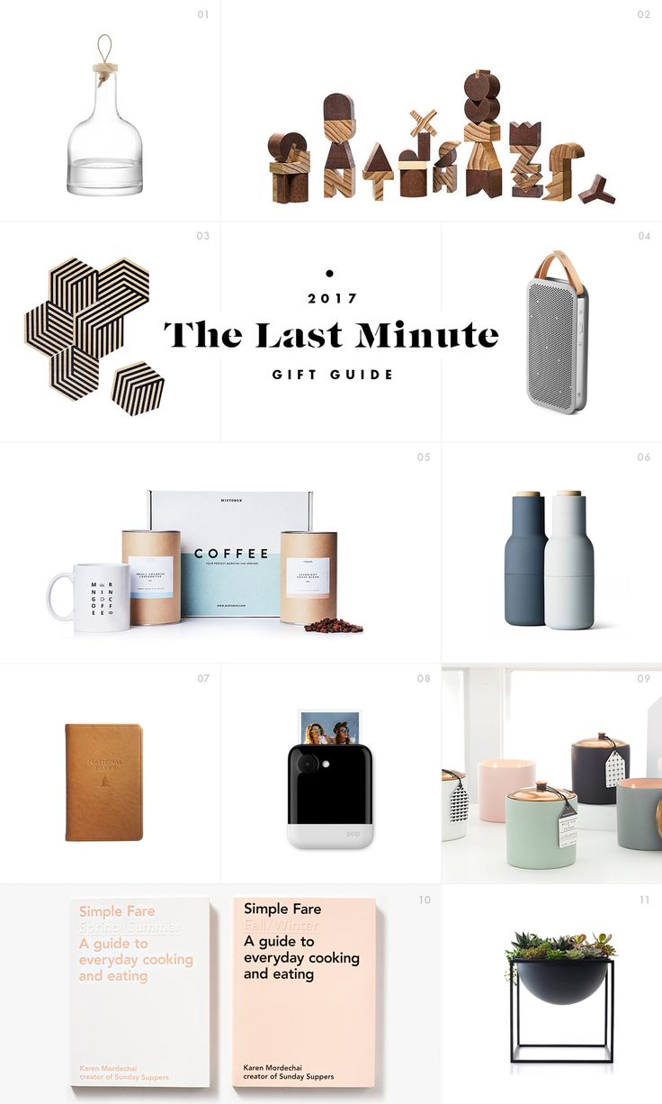 The Last Minute Gift Guide / See and Savour #giftguide
