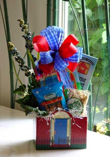 Welcome Gift basket for an upscale new apartment tenant via Cherie Reagor  a pioneer in the