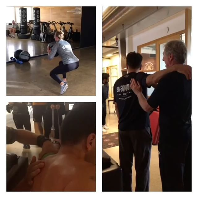 Three of the many great moments during the 3D Funktion M4 in Stockholm. #3Dfunktion #3Dfunktionfitness #manualtherapytechniques #sijointpainfree  #sethronland #andreasöhgren #louisedahls #jamalcharafi #pt #leonardosnelleman #moveqacademyeurope #moveq #fitforlife #fun #variations #personalized