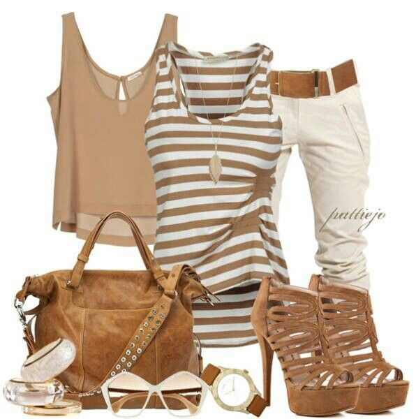 Rock it..... our drop it? I like the stripped shirt and the shoes