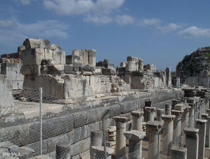 Gran Teatro de Éfeso. Escenario. Turquía