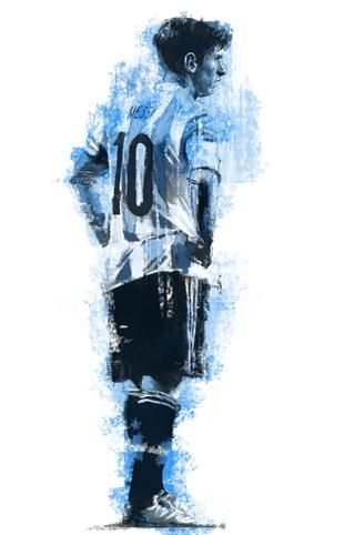 Messi | Sportfanzine #messi #graphic #legend #barcelona
