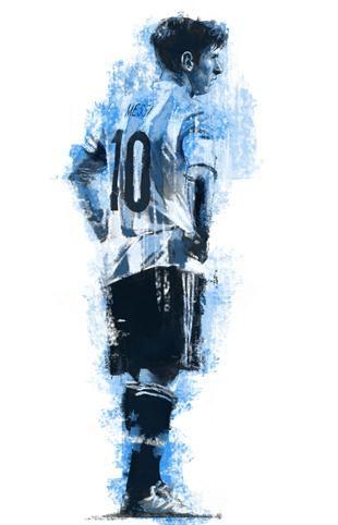 Messi | Sportfanzine #messi #graphic #legend #barcelona