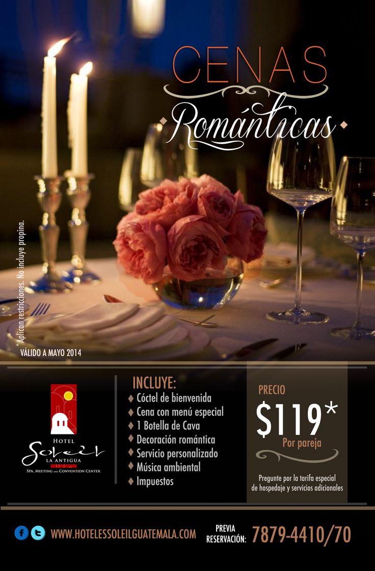1000 images about paquetes para parejas on pinterest - Cena ligera romantica ...