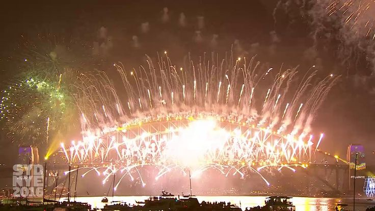 Welcome to 2017! See the best of Sydney's New Year  Midnight Fireworks last night - the benchmark of all NYE celebrations for the rest of the world!