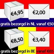 PostNL verhoogt de verzendkosten op 1 januari. Bestel in 2012 en profiteer dubbel van de uitverkoop!