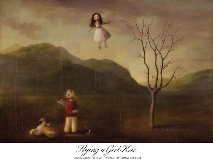 Stephen Mackey - Flying a Girl Kite