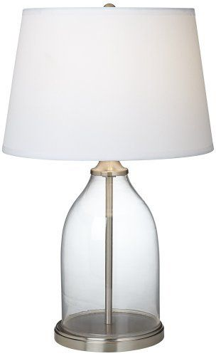 Closhe Collectible Steel With White Shade Defi Table Lamp   Euro Style  Lighting