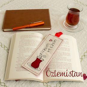 Kitap ve çay ikilisinden vazgeçemeyenlere özel kitap ayracı