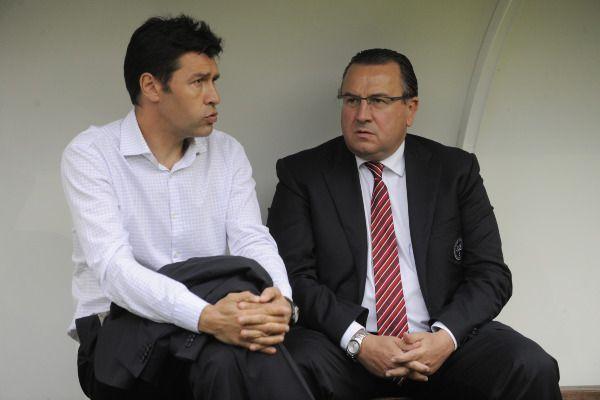 Hubert Fournier et Jean Pierre Caillot