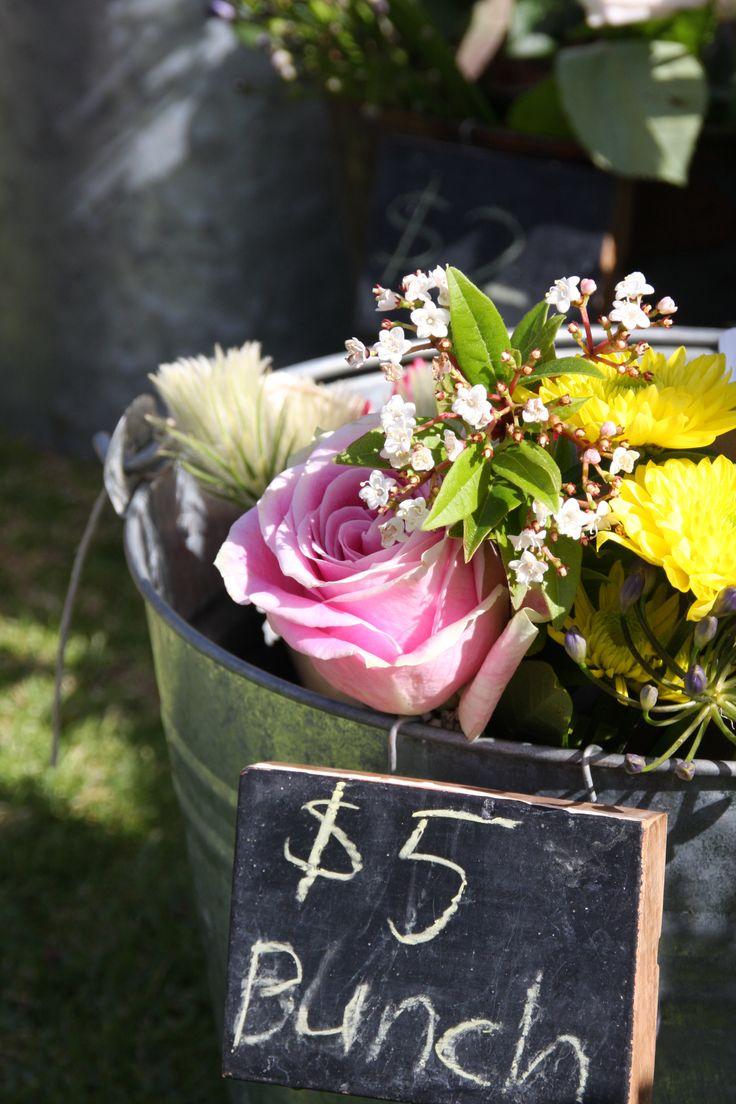 Rosie's Wild Flowers at the Little Big Markets