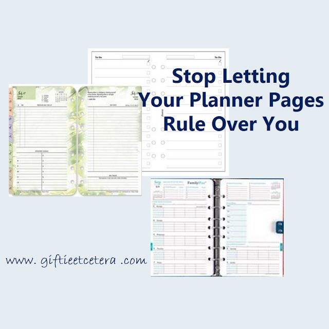 Take Control of Your Planner Pages --- How to Use Franklin Blooms, Filofax To Do Lists, and Daytimer FamilyPlus.  Repin and share!