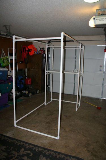 DIY Photobooth using PVC :  wedding diy photo booth photobooth reception Frame