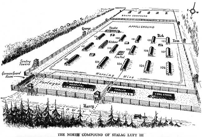 """During the """"Great Escape"""" a group of Allied prisoners from Stalag Luft III paid a terrible price."""