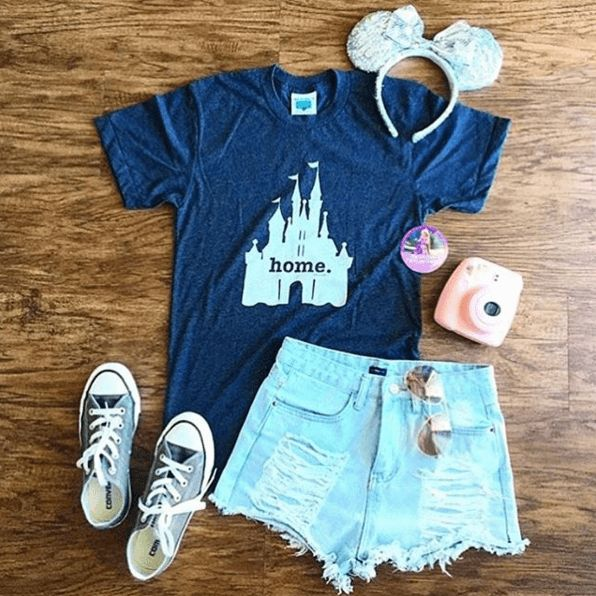 "Is there a ""magical"" place that feels like home? Then our insanely soft Home at the Castle T shirt is for you. It's made in the USA and donates to charity."