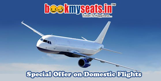 Booking flights ticket online NOW SO CHEAP! Booking flight tickets online becomes an advantageous affair with bookmyseats.in. Don't miss the opportunity of getting the cheapest prices by booking flight tickets with us. We wish you a happy journey!
