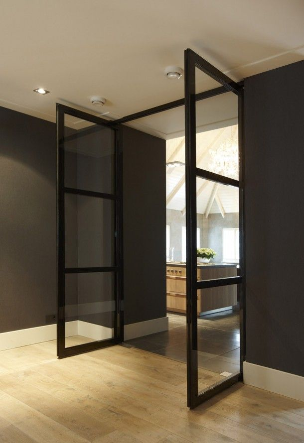 Deur keuken woonkamer Interieurideeën | PB ter inspiratie Door Kriskletskous