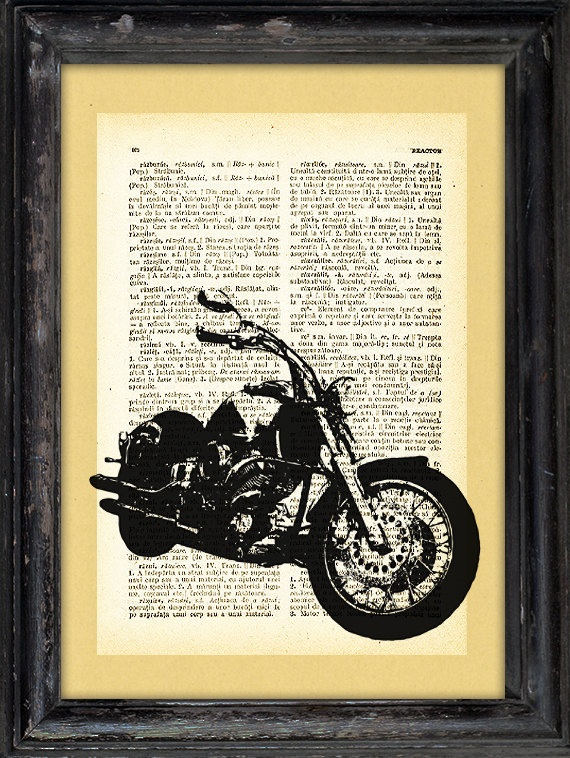 Harley bike print vintage style I'd like to suggest my personal website about gift ideas and tips. The site is http://ideiadepresente.com You're welcome to visiting my website! [BR] Eu gostaria de sugerir meu site pessoal de dicas de presentes, o site � http://ideiadepresente.com