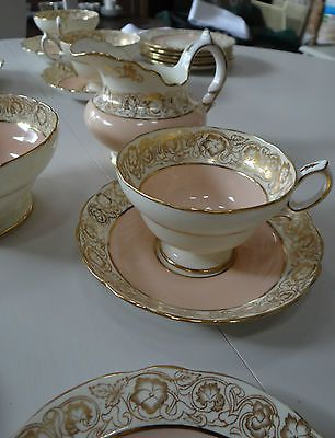 Vintage 21 Piece Teaset, Hammersley Co Longton, 2070/14, 1940's? English China