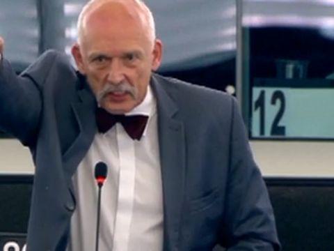 HEIL BILET PDO152 Z Ogrodu Fraszek von Stefan Kosiewski FO544 usłużny inspicjent włączył mikrofon przy tem zbyt przejętemu swą rolą JKM https://youtu.be/BYRHMODPK60  Martin Sonneborn 7 lipca 2015 r. zadecydował  we francuskim Strassburgu za Janusza Korwin-Mikke, że  żyd z Polski na Fahrkarte w Niemczech może powiedzieć w Paplamencie Europejskim po angielsku ticket    http://sowa2.quicksnake.net/Masonry/Mark-Rutte-zastpi-Tuska-na-fotelu-szefa-Rady-Europejskiej