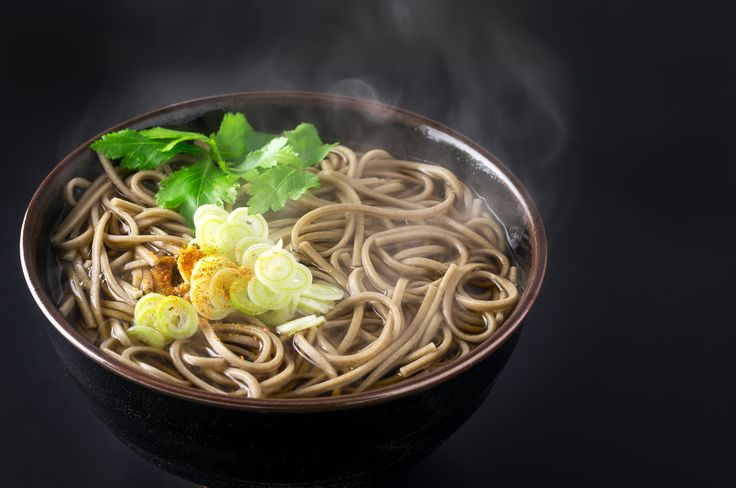 Candice Kumai's Shiitake and Spinach Soba Noodle Soup: Learn how to make this delicious Japanese mushroom and noodle soup recipe.