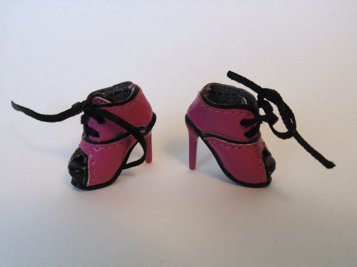 FASHION ROYALTY DOLL SHOES - pink high heeled Boots - Genuine Integrity Toys  #IntegrityToys #ClothingAccessories
