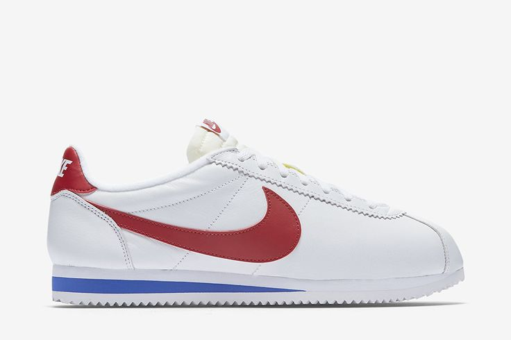 "Nike Classic Cortez Leather ""White, Varsity Royal & Varsity Red"" - EU Kicks: Sneaker Magazine"