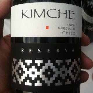 Kimche, Syrah, Reserva, Valle del Maule
