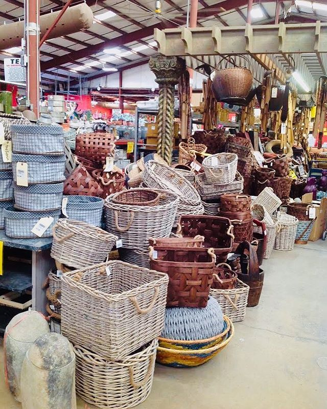 Southeastern Salvage We Still Have Assorted Baskets Come Get