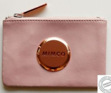 Mimco Mim Pouch in Blossom Pink