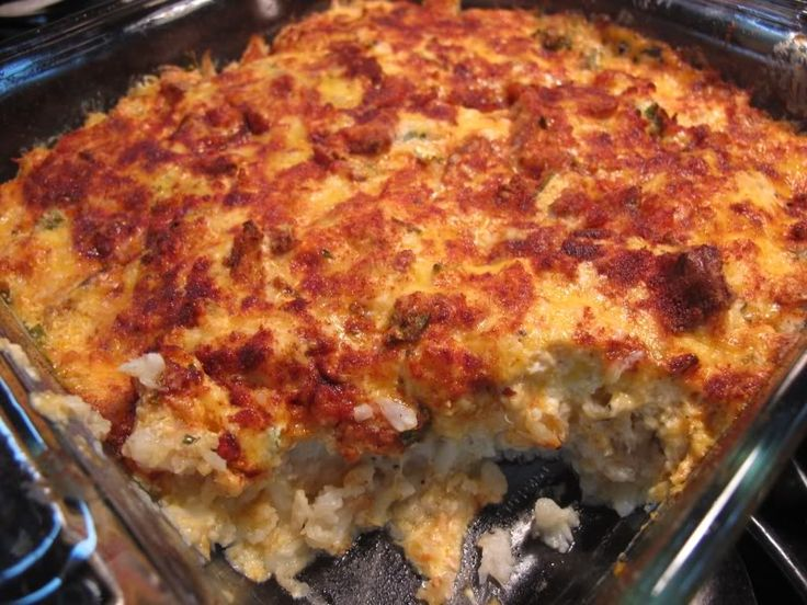 Linda's Cauliflower casserole JUST LIKE STUFFED BAKED POTATOES - Low Carb Friends