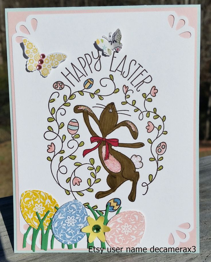 344 best images about Handmade Easter Cards – Handmade Easter Cards Ideas
