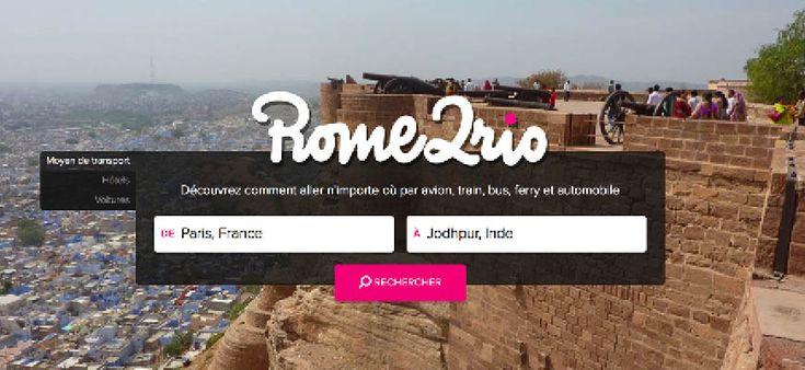 Rome2rio vous fait découvrir le monde en transport en commun ! Le site liste tous les moyens de transport mondiaux vers n'importe quelle destination.