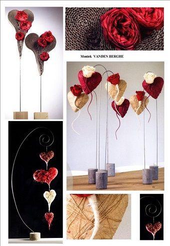 Les Fleuristes > Articles > > Idées de compositions pour la Saint Valentin !