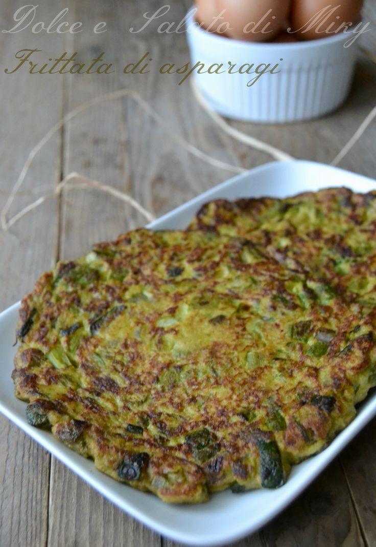 Ricetta frittata di asparagi  Dolce e Salato di Miky  e