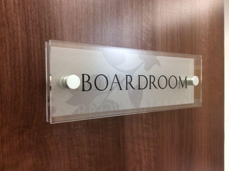 the office door sign